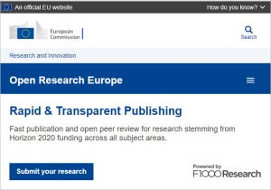 Open Research Europe
